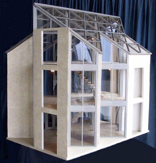 17 Beste Idee N Over Modern Poppenhuis Op Pinterest