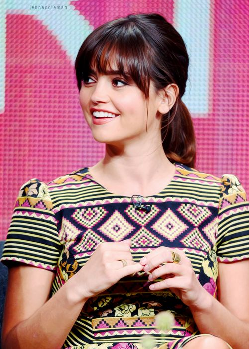 Jenna Louise Coleman!!! She is my idea of perfection!!!
