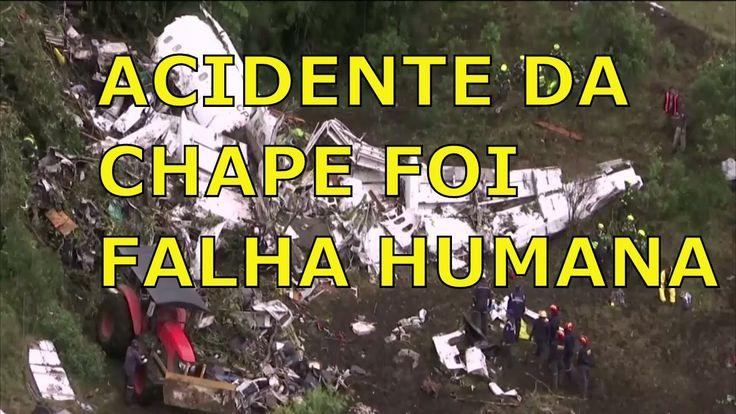 """""""FALHAS HUMANAS"""" Acidente da Chapecoense poderia ter sido evitado aponta..."""