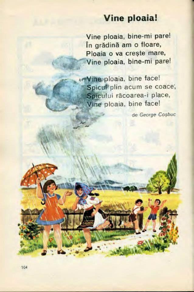 Vine ploaia! Din Abecedar.