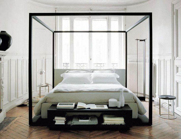 camas con dosel y mosquiteras con carcter