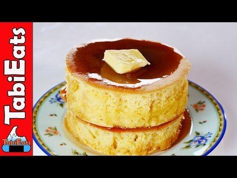 How to Make Japanese Pancakes (Souffle Pancake Recipe) - YouTube