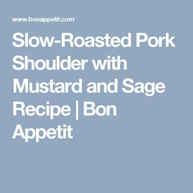 The 25+ best Slow roasted pork shoulder ideas on Pinterest ...