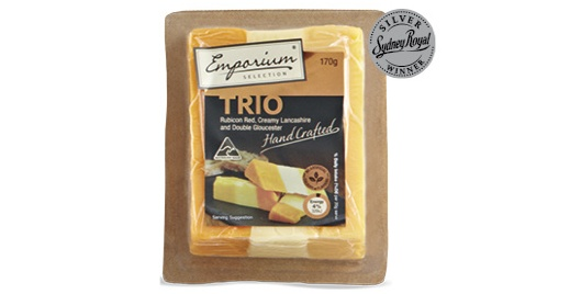 Emporium Selection Handcrafted Cheese from Aldi. For those wine and cheese nights.