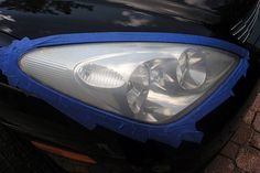 How to Clean Your Car Headlights | eHow