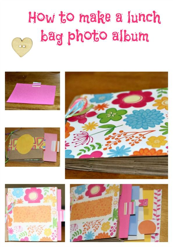 How-to-make-a-lunch-paper-bag-photo-album   #craft @Brett Johnson Martin