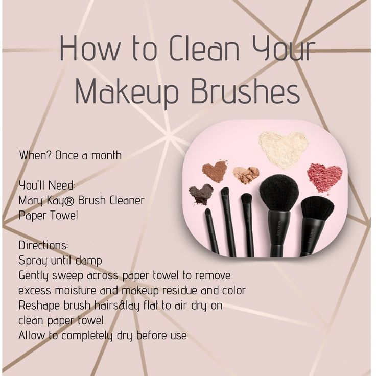 The most important part of your makeup routine is cleaning your brushes!