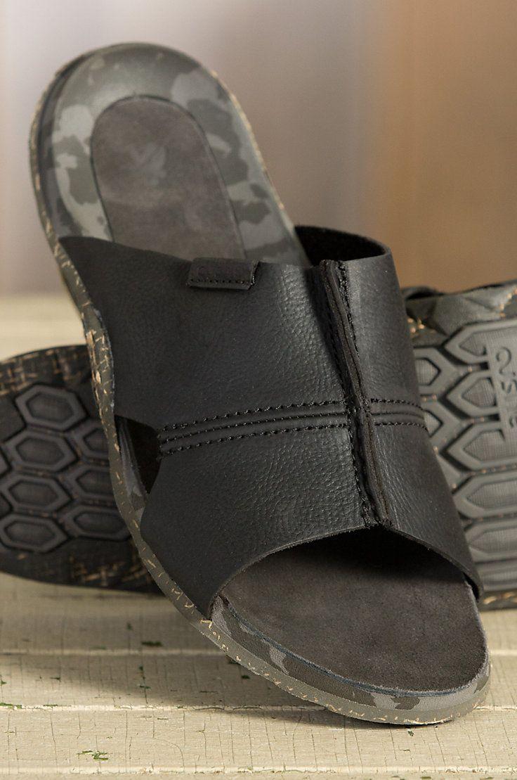 Men's Cushe Argos Leather Sandals