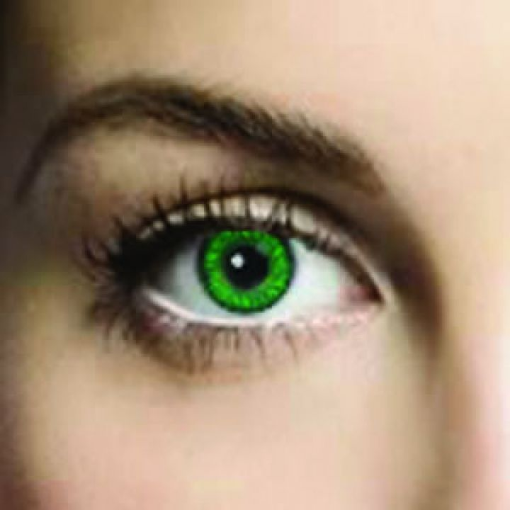 Mesmereyez Emerald Green Coloured Contacts (Prescription)