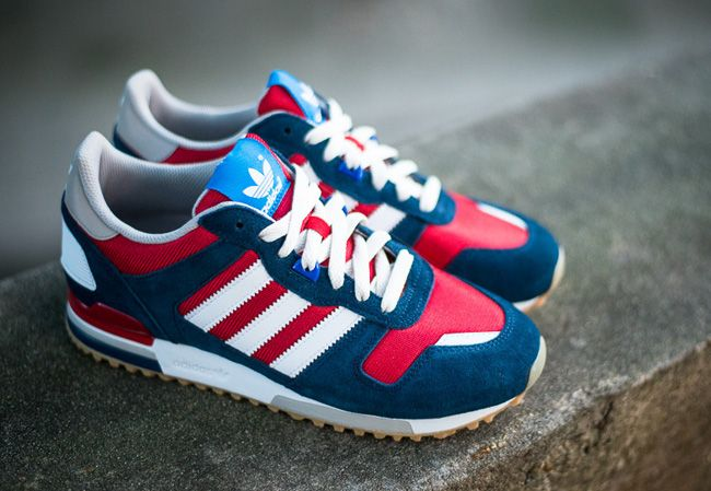 adidas ZX 700 | Navy, Red & Gum