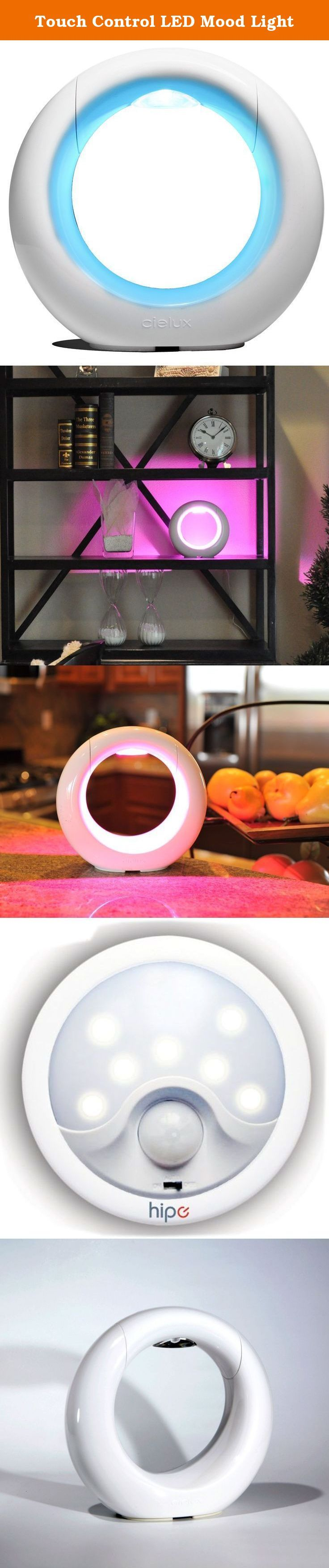Touch Control LED Mood Light. The Touch Control LED Mood Light puts you in charge of creating an atmosphere in your home or office with a palette of hues that span the entire color spectrum. Create the perfect ambiance, enhance your decor, rev up your energy level or soothe your emotions. The Touch Control LED Mood Light is a creative tool for instantly coloring your world. Simply tap the touch pad on the sculptural table lamp to shift colors, dim or brighten the light, or create your own...