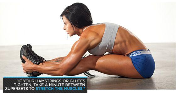 Bodybuilding.com - Ashley Horner's Glutes Workout: Maximum Maximus