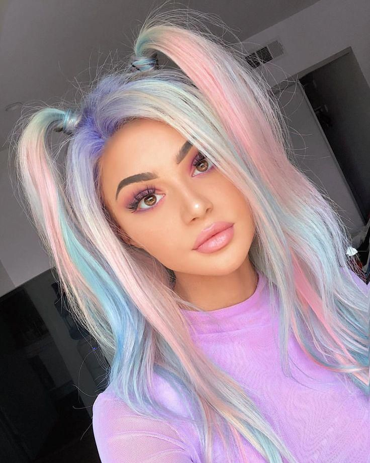 Color Changing Hair Dye Heat Activated Hairdresser Hairdye Hair Styles Cool Hairstyles Cool Hair Color