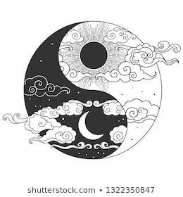 Decorative graphic design element in oriental styl…
