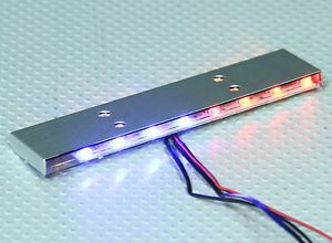 New 1 10 Scale Police Flashing Emergency LED Light Bar Kit RC Car Truck HPI Losi | eBay