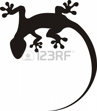 gecko tattoo Stock Photo - 16799219