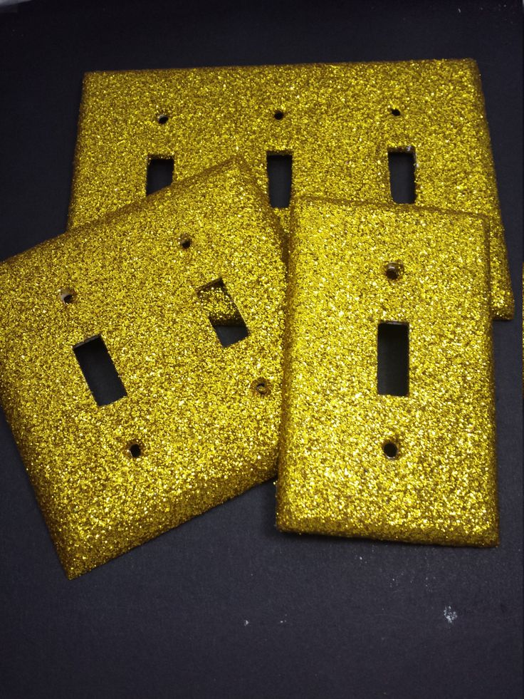 170 best light switch plates outlet covers all custom shiny bright bold 24k yellow gold glitter bling light switch plates outlet covers rockers safety plugs sparkly custom wall plate dcor sciox Image collections