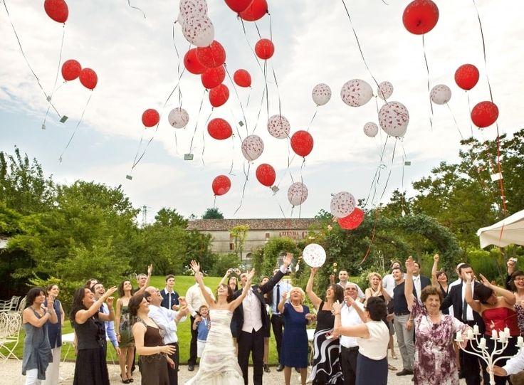 Souvent Oltre 25 fantastiche idee su Palloncini matrimonio su Pinterest  LR29