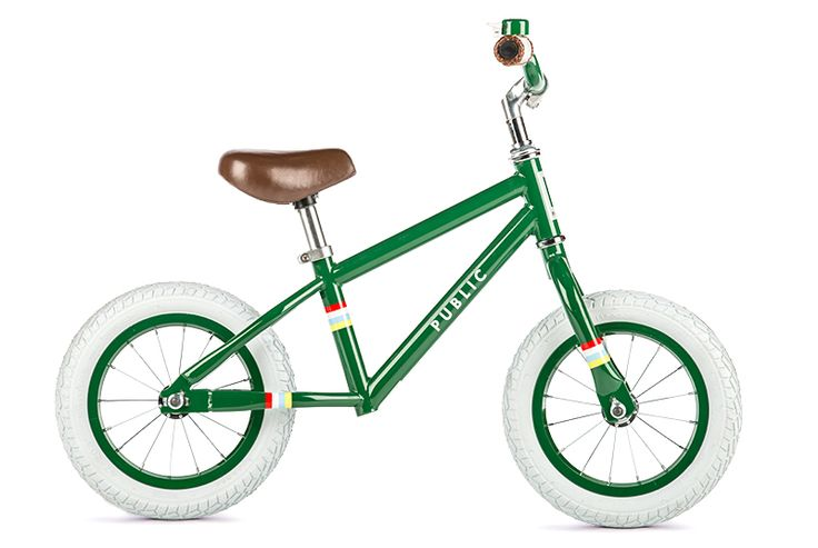 PUBLIC Mini V - Kids Balance Bike - Push Bike for Toddlers - Boys and Girls Diamond Frame