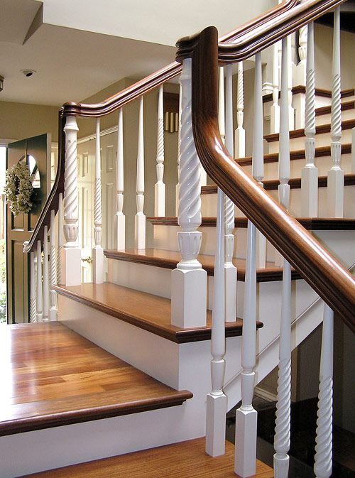 Such A Pretty Staircase Foyer Inspiration