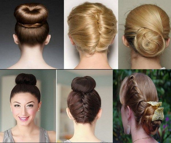 Buns are very female and fashionable hairstyles that go with everybody having lo…