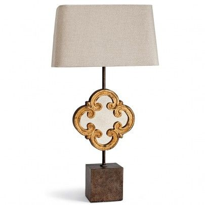 Motif Mirror Table Lamp From Regina Andrew. Http://www.plumgoose.