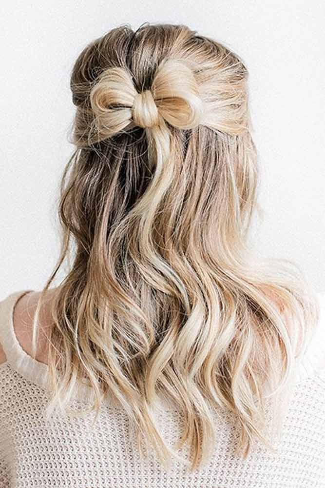 Five-Minute Cute Hairstyles for Medium Hair ★ See more: lovehairstyles.co…