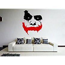 Batman Wandtatto Dekoration für das Kinderzimmer etwas