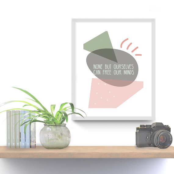 Free mind quote, Printable Wall Art, Printable Quote, Motivational Quotes, Instant Download Only, PDF JPG, Home Decoration, Gift Ideas