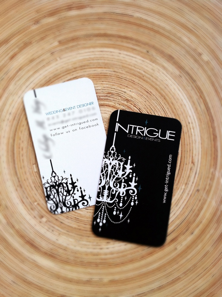52 best business cards images on pinterest visit cards business business cards designed for intrigue design events get intrigued reheart Image collections