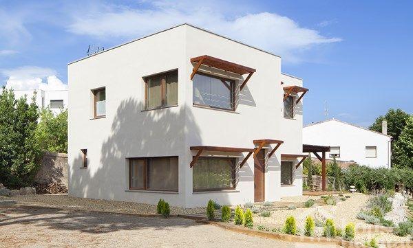 Casa moderna diseño bioclimático.