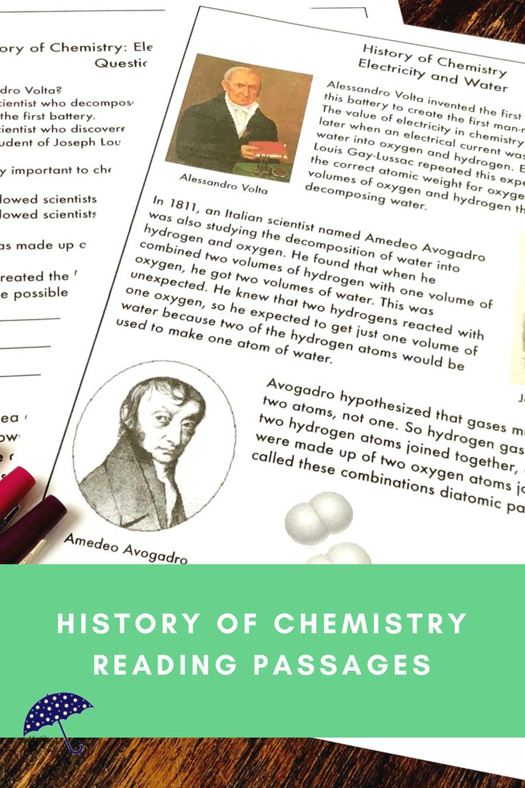 Are you teaching middle school or upper elementary chemistry? Do some of your students need a little extra help? Understanding the history of chemistry can help students understand the concepts you are teaching. Using reading passages is an opportunity for cross-curricular instruction with science, social studies, and reading. Learn all about how early chemists used electricity to decompose water into hydrogen and oxygen. Click to see more!