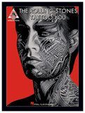 Hal Leonard - The Rolling Stones: Tattoo You Sheet Music - White/Black/Red