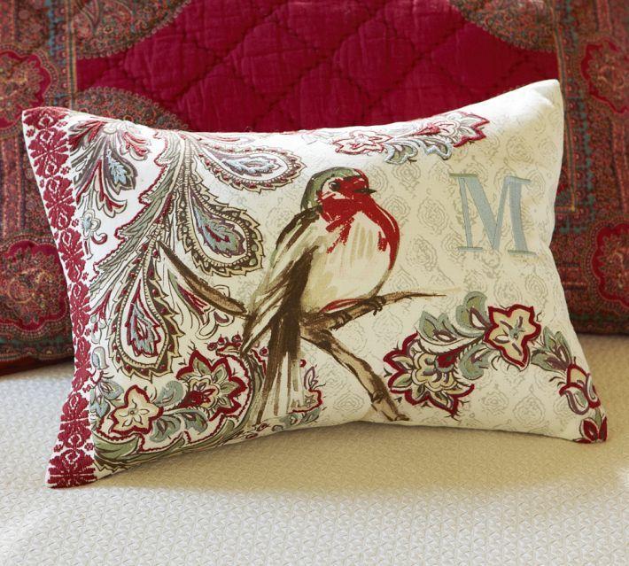 Pottery Barn Bird Pillow: 109 Best Images About Bird Pillows On Pinterest