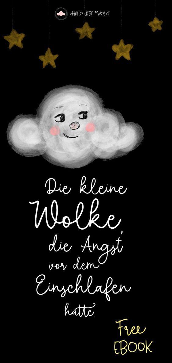 Die kleine Wolke hatte Angst vor dem Einschlafen. Dann traf sie einen Stern – un…