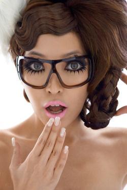 #makeup #glasses