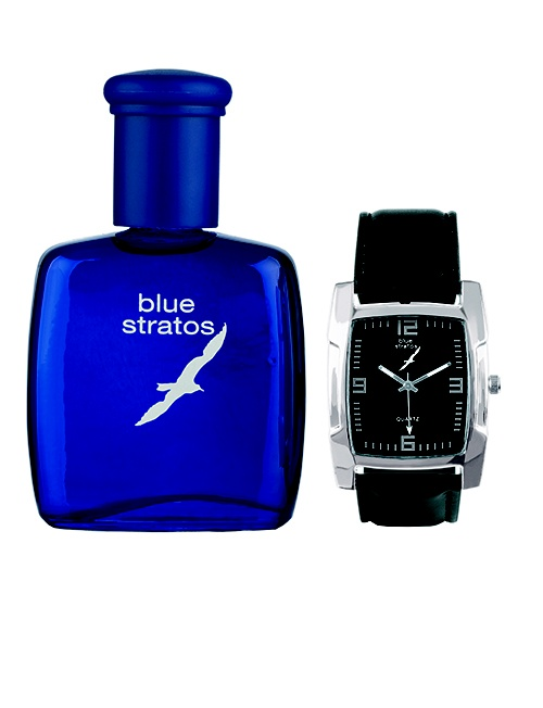 Blue Stratos 75ml cologne gift set
