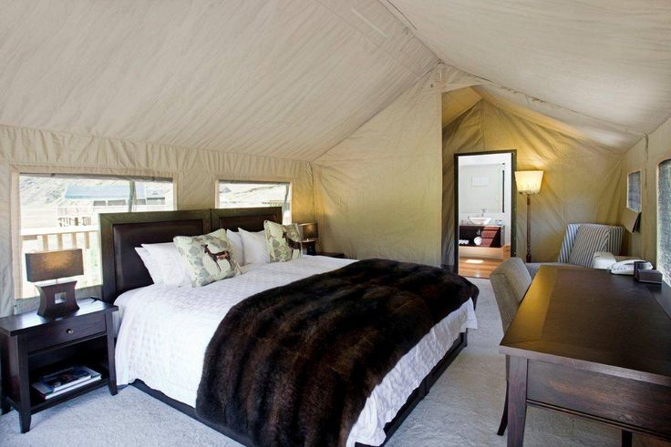 Luxury Tented Lodge in the mountains of New Zealand