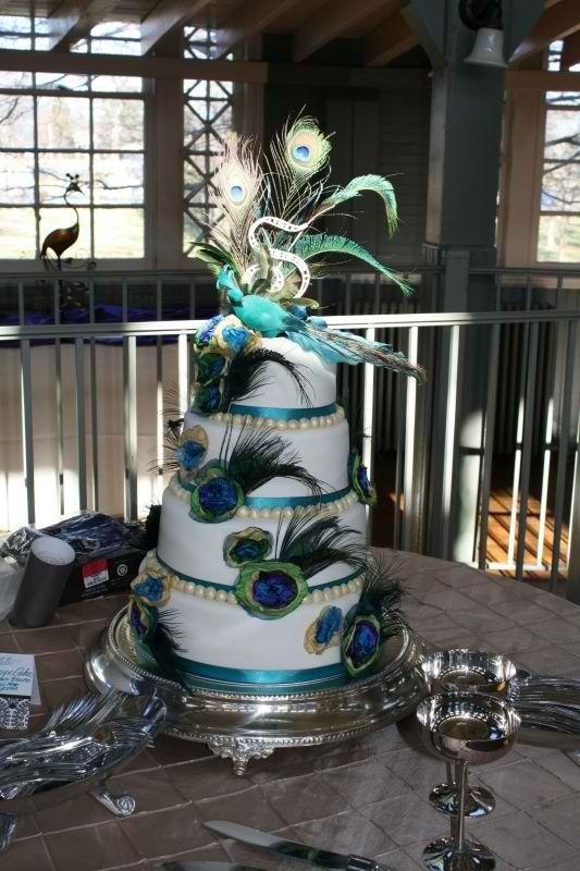 17 best images about pastel de bodas y tortas de - Plumas para decorar ...