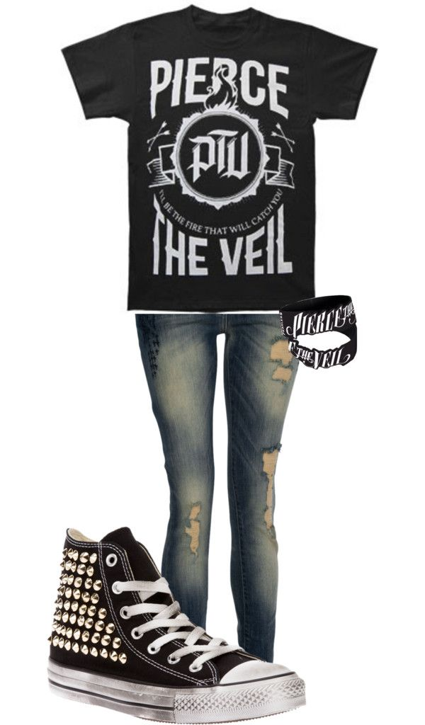 """""""pierce the veil"""" by wannabesomebody99 ❤ liked on Polyvore"""