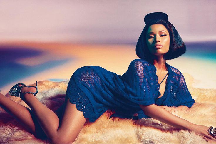 Nicki Minaj looking exposed as she wears sheer-revealing clothing (See Photos)