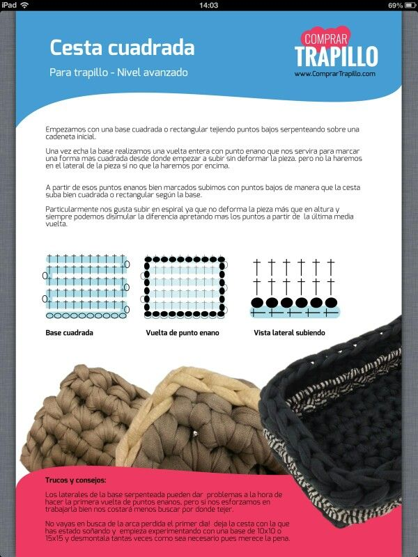 17 mejores im genes sobre alfombras trapillo en pinterest trapillo mandalas y hilos y lana - Alfombra de trapillo cuadrada ...