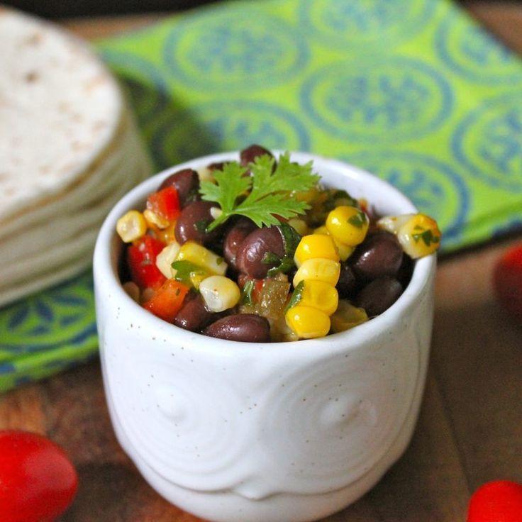 bean salad corn and black grilled corn poblano and black bean salad ...