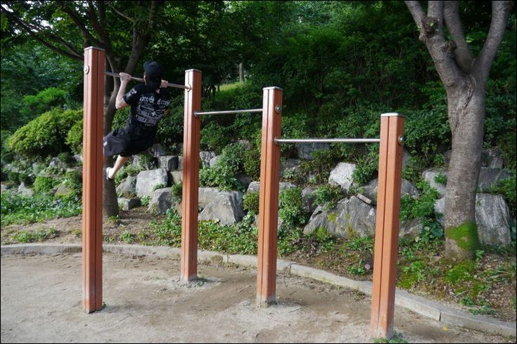 Easy Tips How To Build A Backyard Chin Up Bar | Outdoor ...