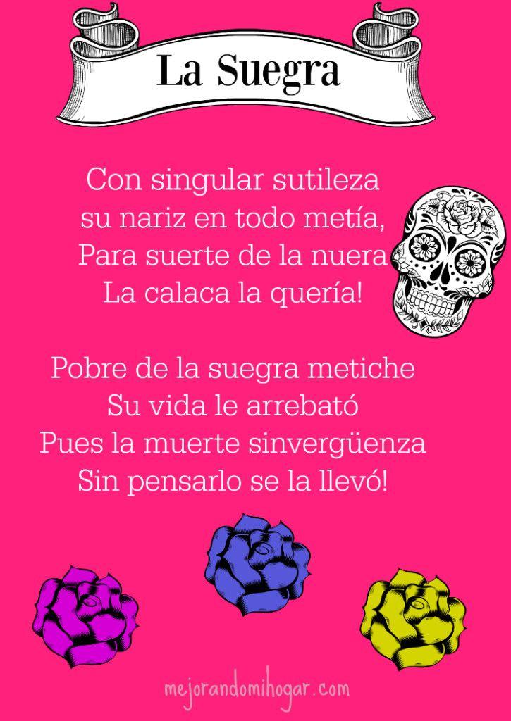 Calaveritas literarias. Esta es para la suegra #DiadeMuertos