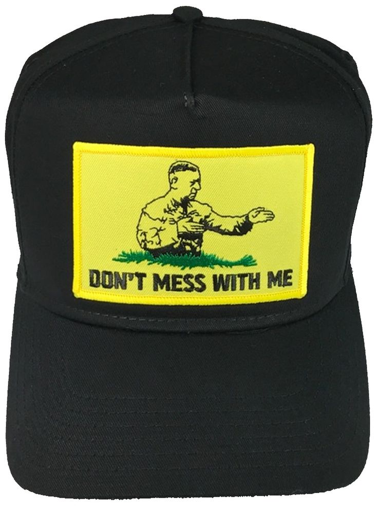 DON'T MESS WITH ME GENERAL MATTIS GADSDEN FLAG HAT DON'T MESS WITH ME GENERAL MATTIS GADSDEN FLAG HAT [MATTISHnPHat_Clean] - $15.00 : Hat n Patch, Military Hats, Patches, Pins and more