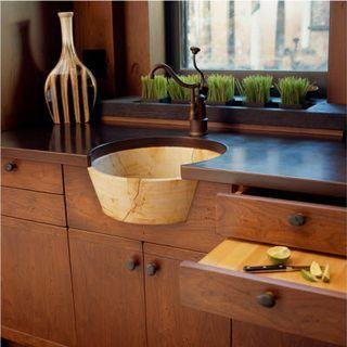 die besten 25 rustikale k chen sp len ideen auf pinterest. Black Bedroom Furniture Sets. Home Design Ideas