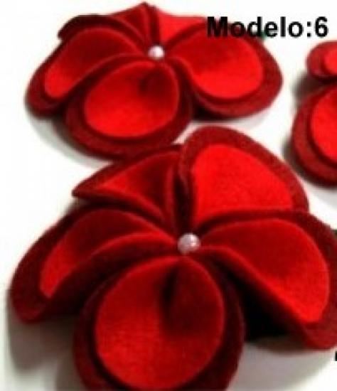 broche flor fieltro, consultar precios para bodas  fieltro,piedras a mano