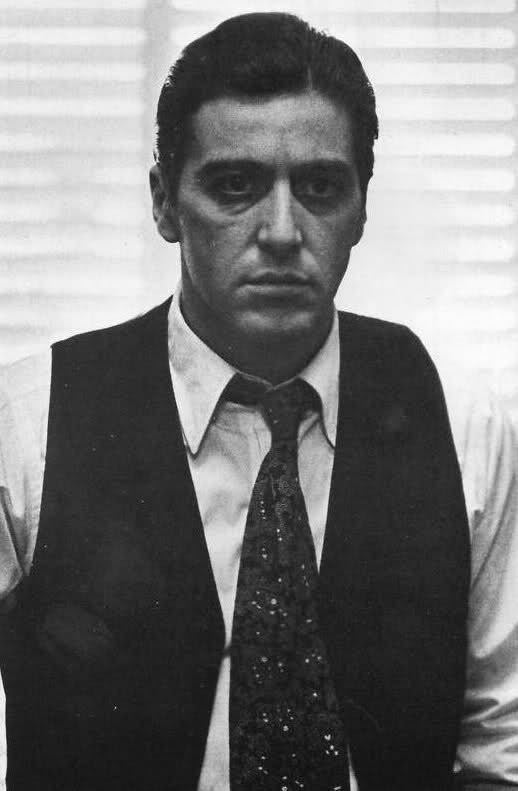 The greatest Al Pacino performance ever hands down. #GodfatherPartII #MichaelCorleone