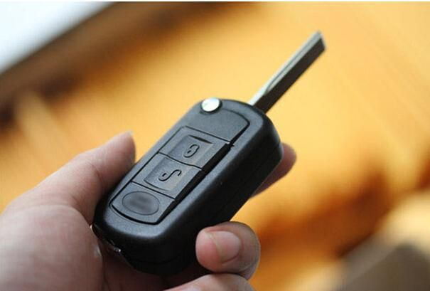 [Visit to Buy] Remote Flip  car Key Case shell  cover for Land Rover Range Rover Sport LR3 Discovery Fob 3 Buttons Free shipping #Advertisement